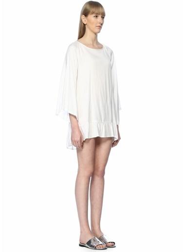 Sundress Elbise Beyaz